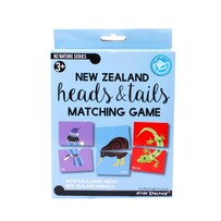 New Zealand Heads & Tails Matching Game