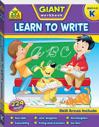 School Zone - Giant Learn to Write