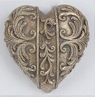 Collectable Heart - Antique Gold