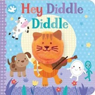 Finger Puppet Book - Hey Diddle Diddle