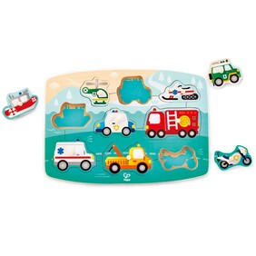 Hape - Emergency Peg Puzzle