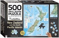 500pc New Zealand Map Puzzle
