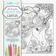 Artist Canvas - Unicorn