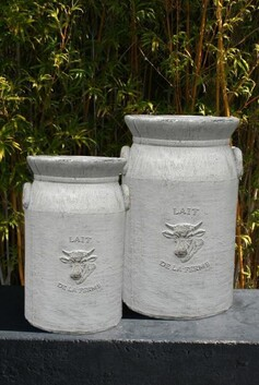 Garden Pot - Dairy Can 40cm
