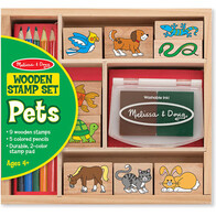Pets Wooden Stamp Set