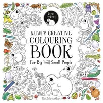 Kuwi's Creative Colouring Book