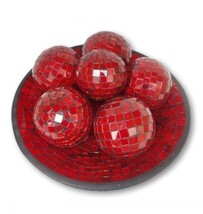 Mosaic Ball 8cm / Red