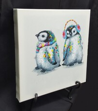 Canvas Wall Art - Pengtwins