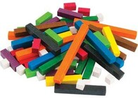 Jumbo Wooden Rods - Cuisenaire