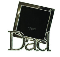 Dakota Silver Dad Photo Frame