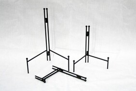 Folding Metal Plate Stand