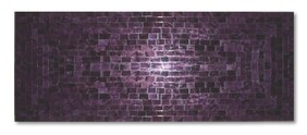 Mosaic Table Runner 80 x 30cm / Purple