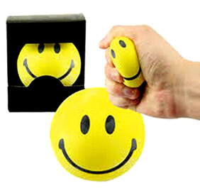 Balls Smiley Stress Ball 55mm