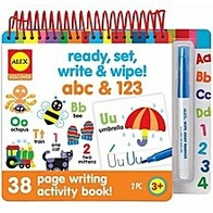 Ready, Set, Write & Wipe - ABC & 123