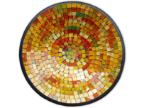 Mosaic Bowl / Yellow 30cm