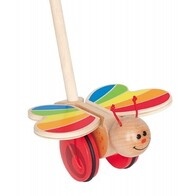 Push & Pull Butterfly Push Pal - Hape