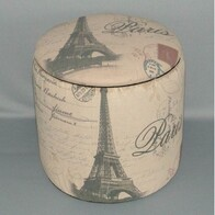 Foot Stool - Eiffel Tower