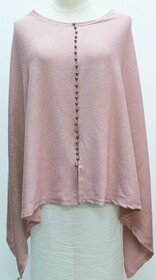 Top - Button Front Summer - Pink