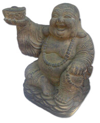 Garden Ornament - Happy Buddha 40cm