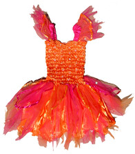 Orange and Pink Fairy Dress
