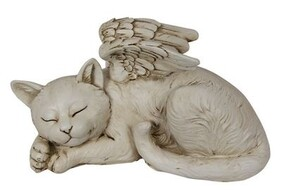 Cat Memorial Angel