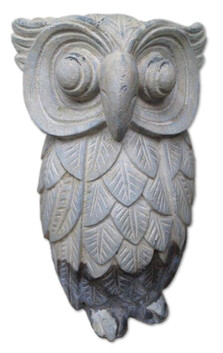 Garden Ornament - Concrete Owl