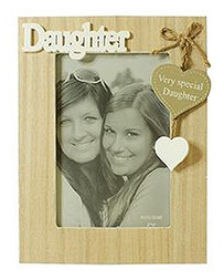 Wooden Daughter Photo Frame