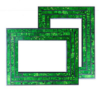 Mosaic Photo Frame / Green