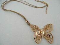 Necklace - Rose Gold Butterfly