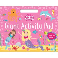 Magical Mermaids Activity Pad