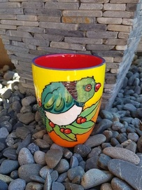 NZ Made Hand Painted -Kereru Blokes Mug