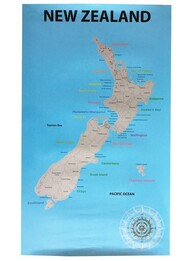Scratch Off Map New Zealand
