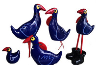 Nz Made Ceramic Pukeko Sitting