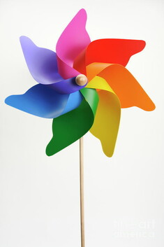 Flower Windmill Wand