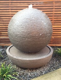 Concrete Ball Water Feature 50cm x 60cm