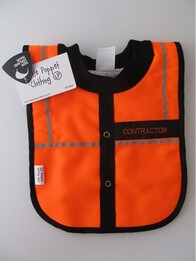 NZ Made Baby Bib / Contractor