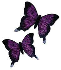 Mosaic Butterfly Wall Art / Purple