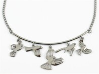 Necklace - Birds on a Branch