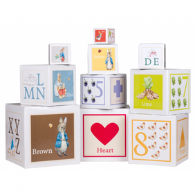 Peter Rabbit Stackable Learning Blocks