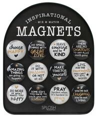 Inspirational Magnets / Black & White