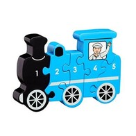 Wooden Puzzle - Train 1-5 Counting