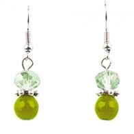 Earrings - Layla Earrings - Green