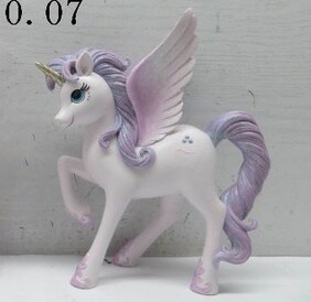 Unicorn Ornament - Lilac
