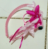 Flower Headband - Light Pink