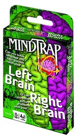 Mindtrap Card Game - Left Brain Right Brain