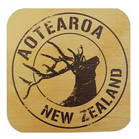 NZ Wood Coaster / Pure Stag