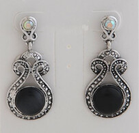 Earrings - Black Hematite Earrings