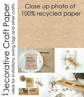 Recycled Craft Paper 150gsm