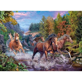 Ravensburger - Rushing River Horses