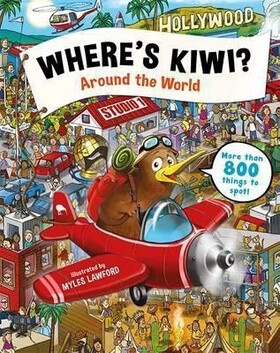 Where's Kiwi? Around the World
